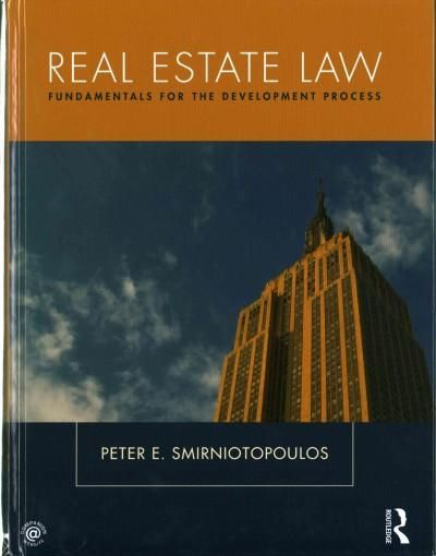 Real Estate Law: Fundamentals for the Development Process