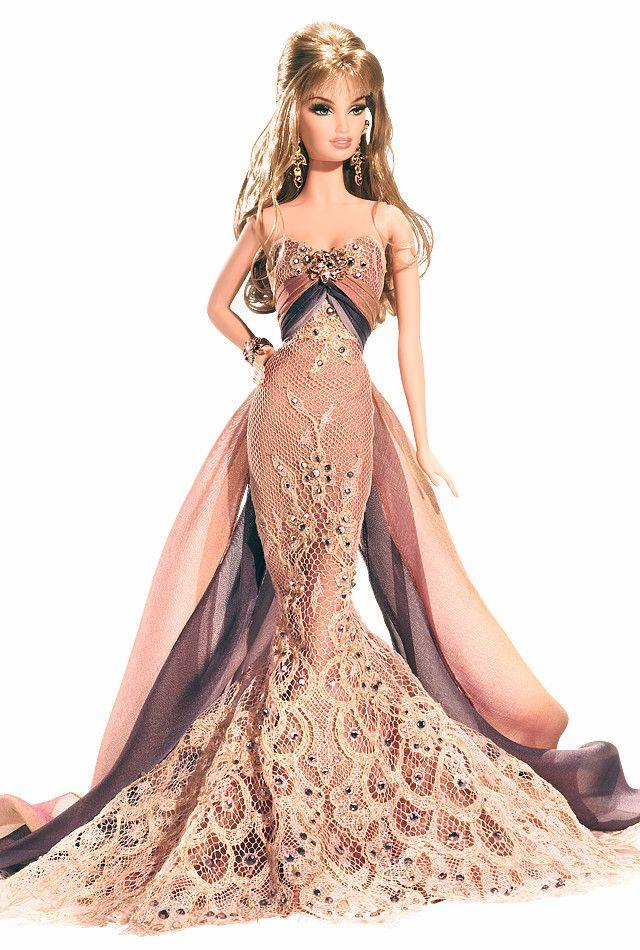 Christabelle Barbie Doll Gold Label w Shipper Box Tissue 2007 New | eBay