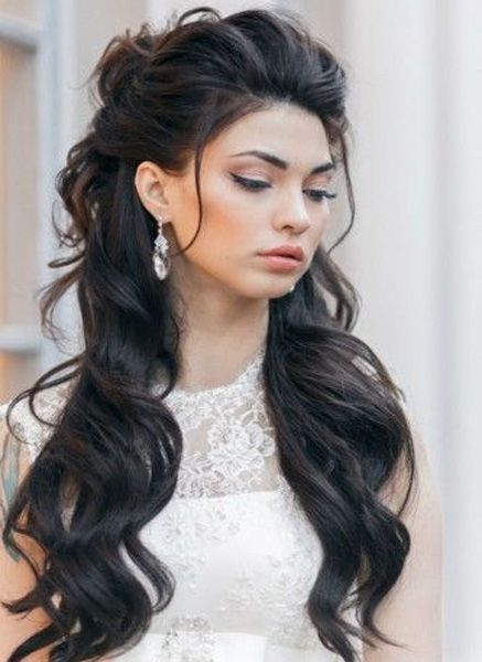 So Pretty Long Wedding Hairstyles 2016