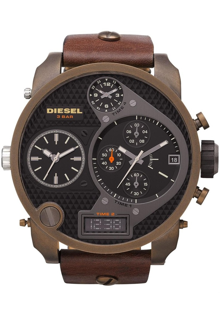 32 best images about montres watches diesel on pinterest. Black Bedroom Furniture Sets. Home Design Ideas