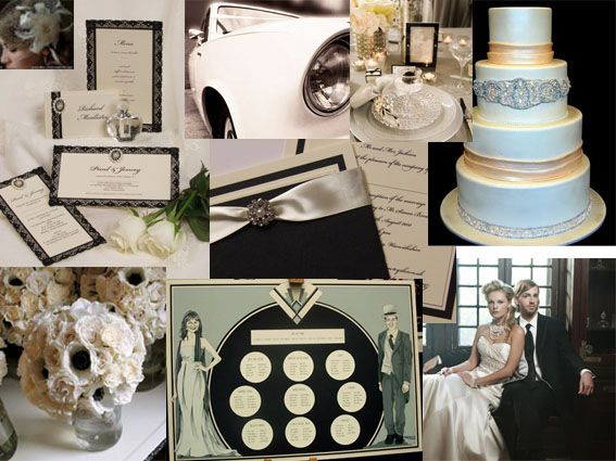1930s Wedding Theme | ... things vintage these days a great theme to style your wedding on is