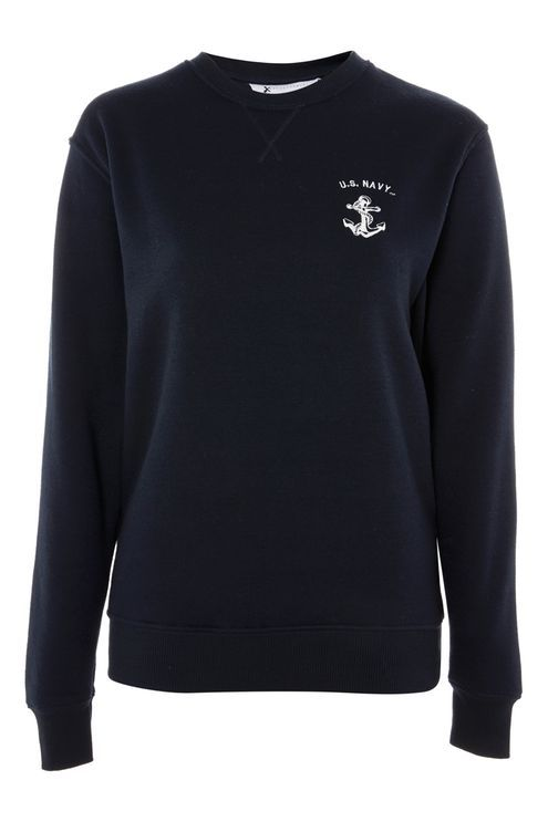US Navy Sweatshirt by Tee