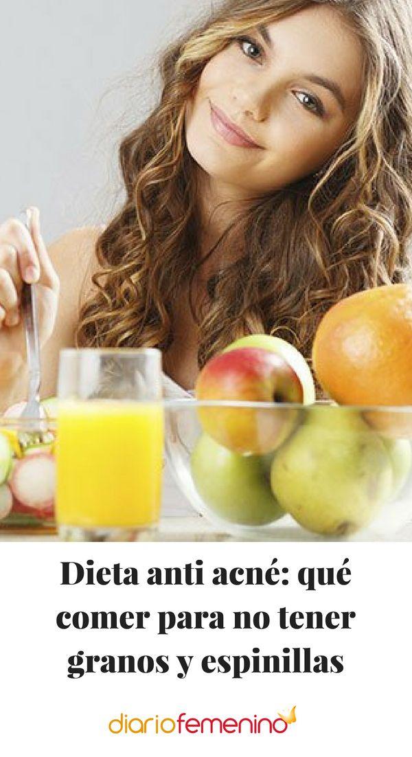 dieta anti acne