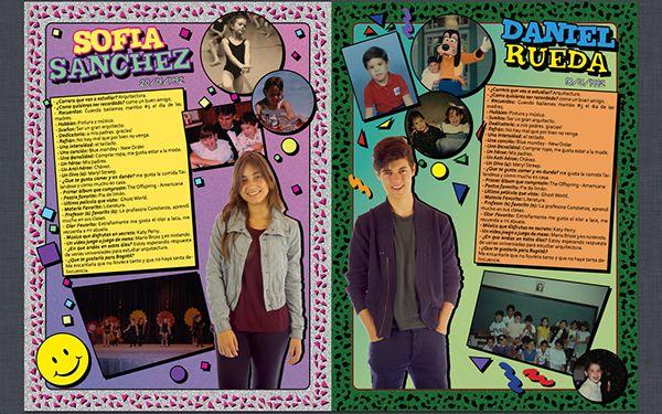 Muestra Perfiles Anuarios (Yearbook) WE.NEW on Behance