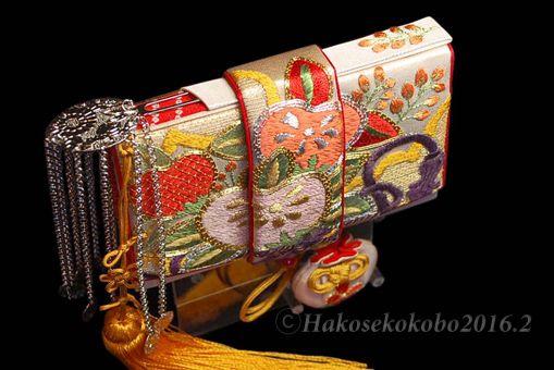 婚礼用筥迫&懐剣『三橘』H.Yさんの作品 | 筥迫は続くよどこまでも!
