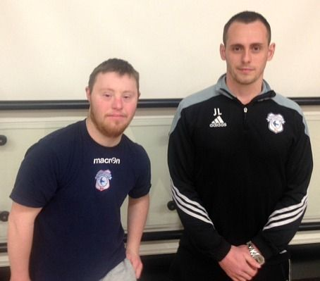 With support from DSActive and WorkFit, Cardiff City FC Foundation offer Luke a volunteer coaching role after he completes their FA Level 1 coaching badge.