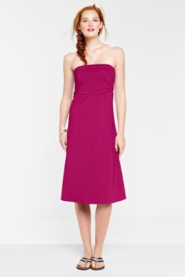 Women's Convertible Swim Cover-up Dress to Skirt from Lands' End I like that this can convert into a skirt.