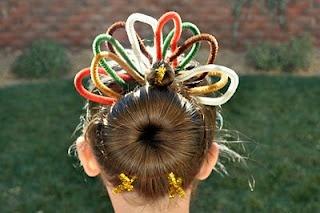 ThanksgivingHair Ideas, Thanksgiving Hair, Thanksgiving Turkey, Holiday Hair, Hair Design, Crazy Hair Day, Princesses Piggies, Hair Style, Hair Buns