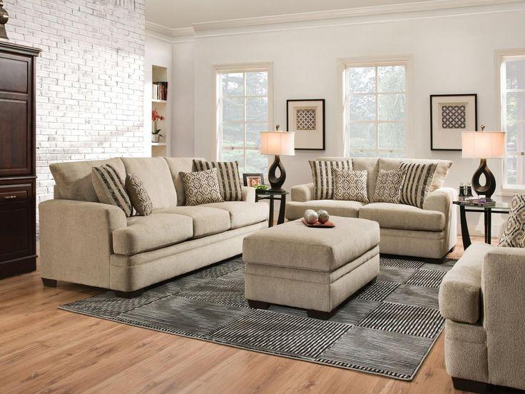 CORNELL PLATINUM Sofa Set