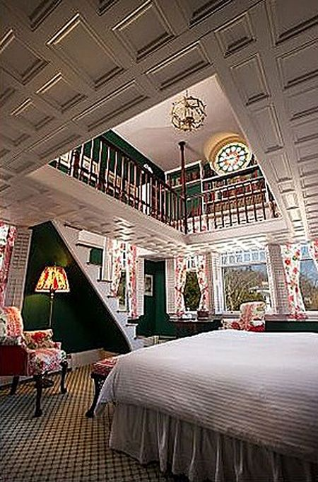 Coastal Camden Maine Norumbega Castle Bed and Breakfast...that  would  be  the  way  to  fall  asleep  &  wake  up!!!!  Holy  cow!!!