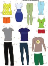 How to Make Paper Dolls: 11 Steps (with Pictures) - wikiHow