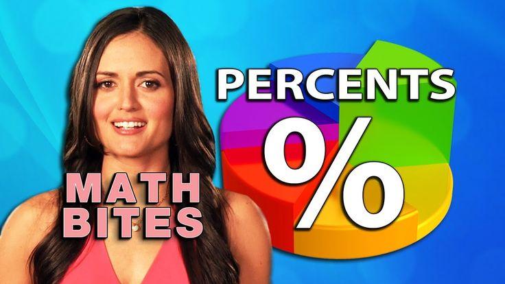 Percents -  Math Bites with Danica McKellar - Good discussion of percents and discounts.
