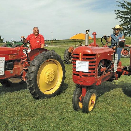 112 Best Massey Harris Images On Pinterest Old Tractors
