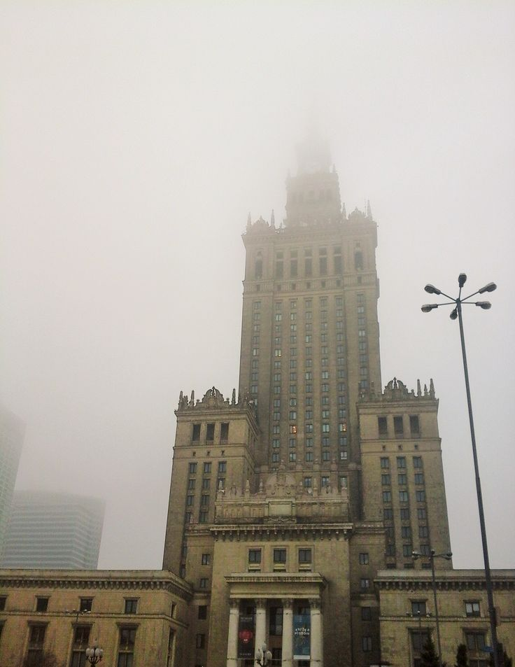 Varsavia - Palazzo della cultura e della scienza