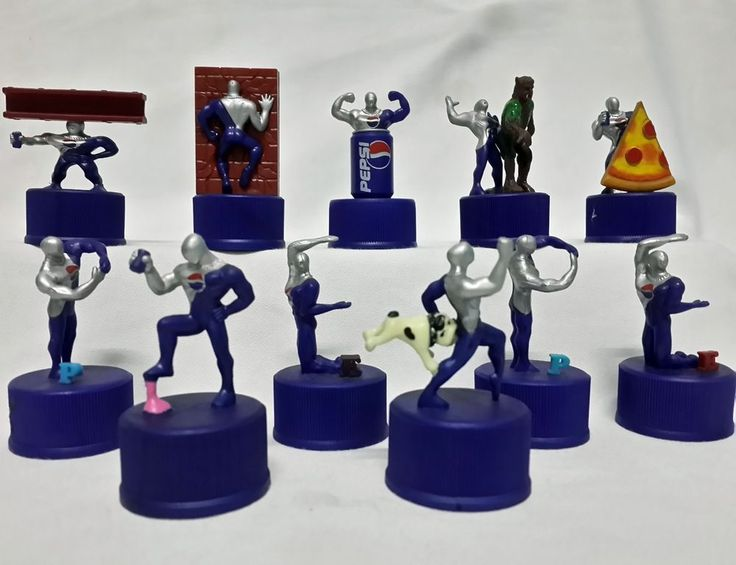 2001 Playstation PS1 Game Pepsi Japan Pepsiman Bottle Cap Mini Figures in Collectibles, Advertising, Soda | eBay