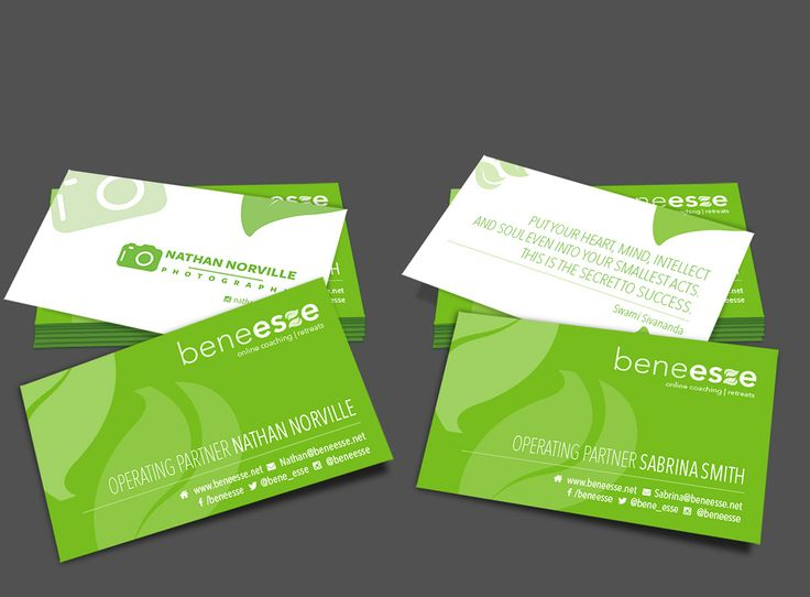 Benesse Business Cards on Behance