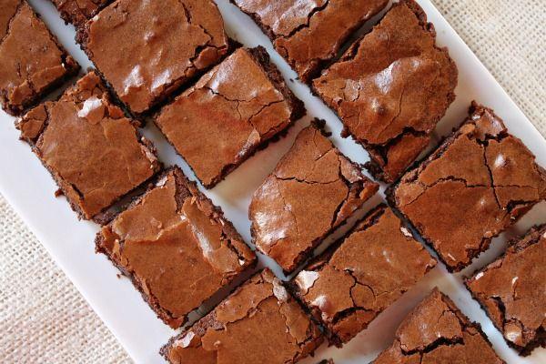 Cocoa Brownies | Bbc good food recipes, Chocolate brownie ...