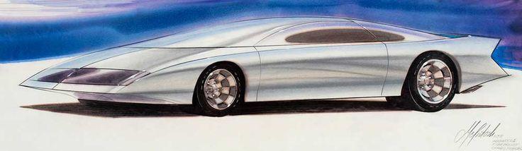 David McIntosh, GM Designer : Dean's Garage