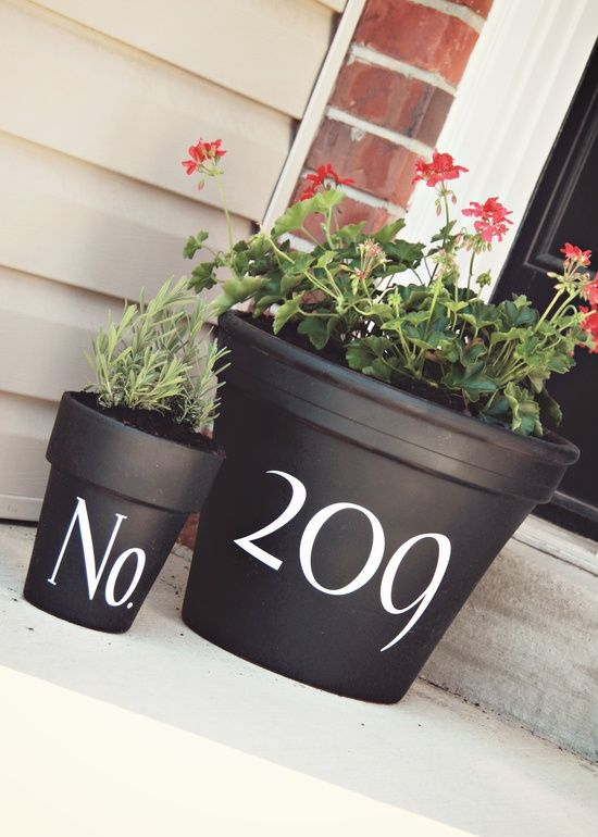spray paint ideas | Silhouette Cameo ideas / Black spray paint and Uppercase Living ...