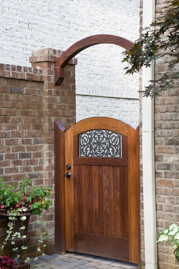Ipe gate door Nashville TN by The