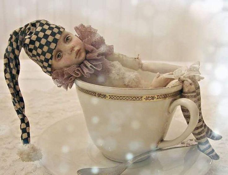 Нежная фотография малыша Пипа  от  коллекционера и автора чудесных работ Marijke. #истории_малыша_пипа #Nederland