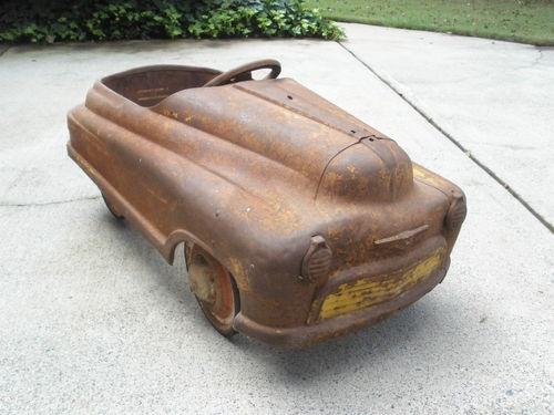 details about vintage murray comet pedal car