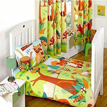 rapport parure de lit pour enfant avec housse de couette et taie d 39 oreiller motif amis de la. Black Bedroom Furniture Sets. Home Design Ideas