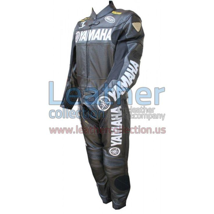 Yamaha Motorbike Leather Suit Black - https://www.leathercollection.us/en-we/yamaha-motorbike-leather-suit-black.html Yamaha apparel, Yamaha leather suit #YamahaApparel, #YamahaLeatherSuit