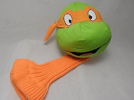 Golf Games Collection | Michelangelo 460cc Driver Golf Headcover Teenage Mutant Ninja Turtles -- More info could be found at the image url. Note:It is Affiliate Link to Amazon.