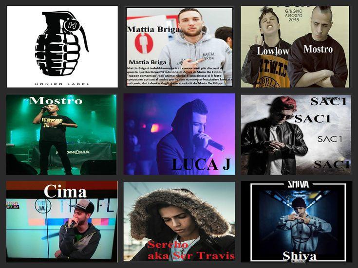 Briga, Lowlow, Luca J, Mostro, Sac1, Sercho, Shiva.Cima.email-agenzia.rudypizzuti@libero.it