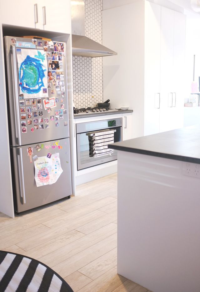 Before and After - Open Plan Kitchen Living Room