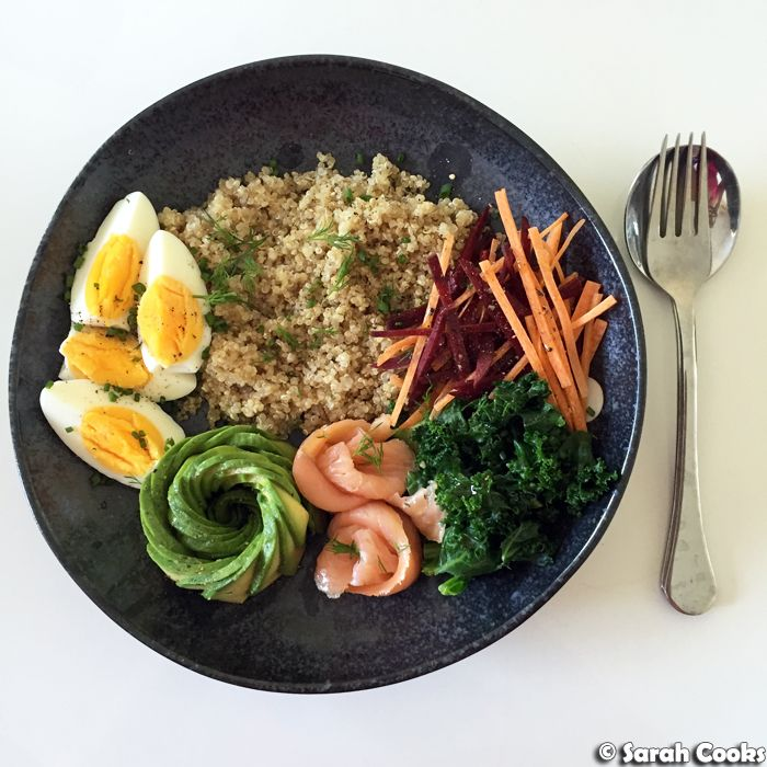Quinoa bowl     Welcome to what I hope will be a semi-regular feature on my blog: Meal Prep Monday . As I