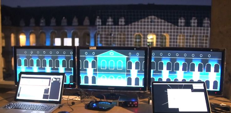 EUROSATORY /// Video Mapping