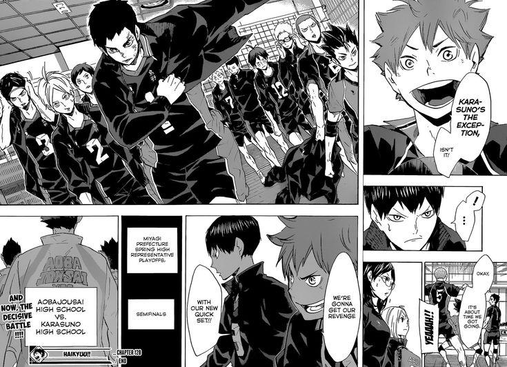 Haikyuu Chapter 128 Read Haikyuu!! Manga Online in 2020