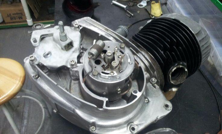 Jawa 250 engine restoration 2