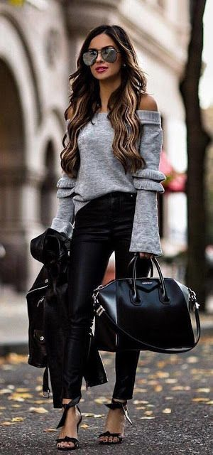 fall street outfits - winter fashion