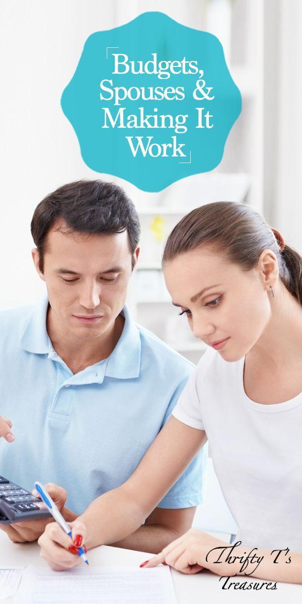 Budgets, Spouses  Making It Work Budgeting, Joyful and Encouragement