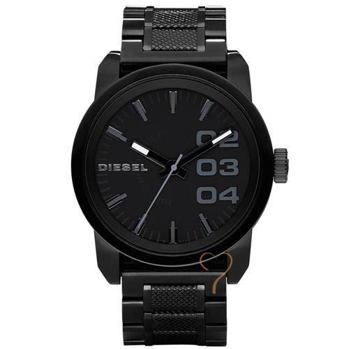 Ρολόι Diesel Unisex Black Stainless Steel Bracelet - BeMine.gr