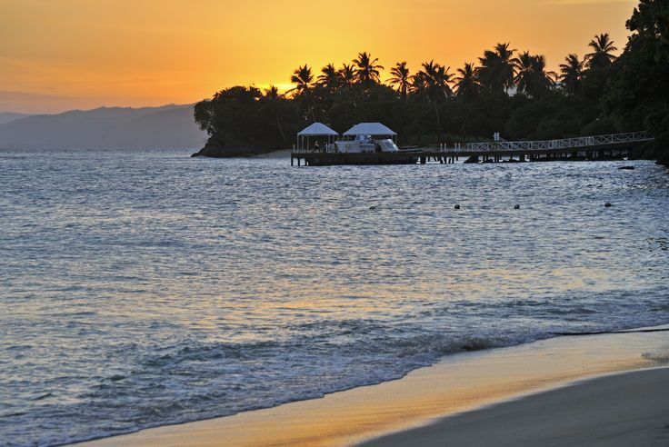 Sunset in paradise #CayoLevantado #Samana #DominicanRepublic   More info: http://www.bahia-principe.com/en/hotels/samana/resort-cayo-levantado