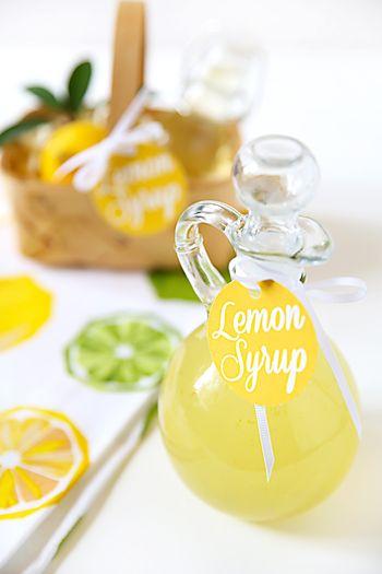 甘酸っぱくて春にぴったり♪アレンジ自在の「レモンシロップ」を作ろう