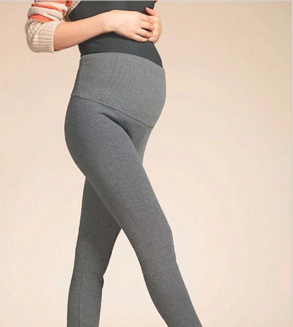 new 2015 Autumn winter velvet Thickening warm adjustable maternity legging gestante women leggings pregnant