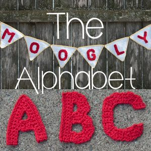 This free crochet alphabet has been a labor of love! So many letters, some easy, some a challenge, but all fun! These applique letters have unlimited uses!