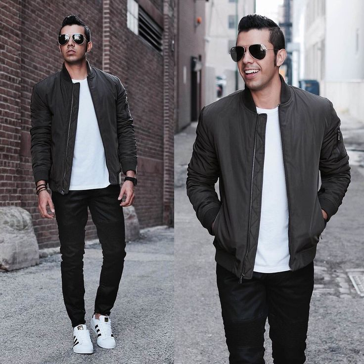 Menstyle: Outfit Ideas to Wear Adidas Superstar