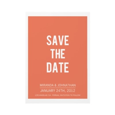 Unique save the dates in Sydney