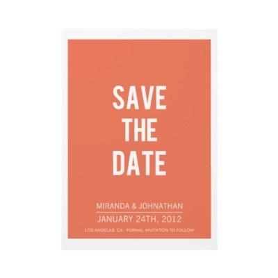 Unique save the dates in Sydney