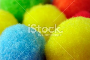 Fluffy Balls Macro Abstract Royalty Free Stock Photo