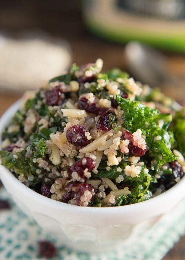 Kale and Quinoa Salad {Gluten Free} - Nutritious Eats