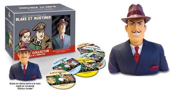 """Du nouveau sur le coffret collector et édition limitée de Blake et Mortimer : """"Intégrale de l'animation""""! Découvrez en image le contenu du coffret !"""