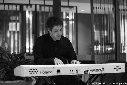 Spike Wilner trio, Hilton Venice, giovedì 12 novembre. Scatto di Massimo Sardena per Fotoclub Padova.