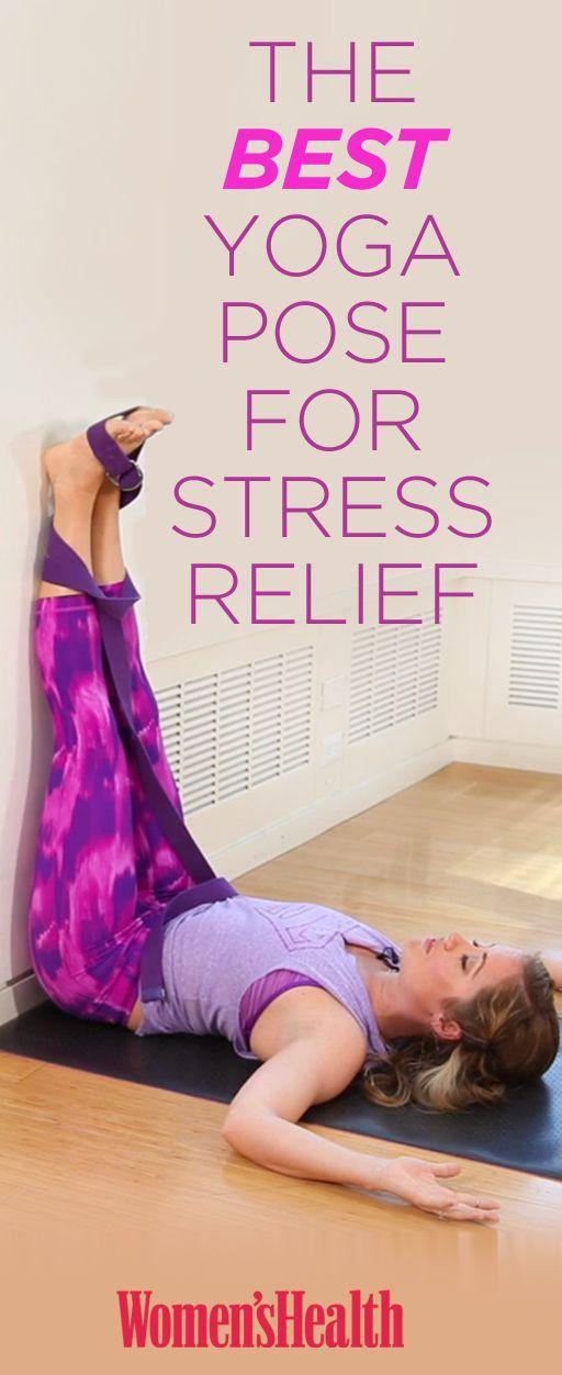 The Best Yoga Pose for stress relief  #stressmanagement http://iandarrah.com/